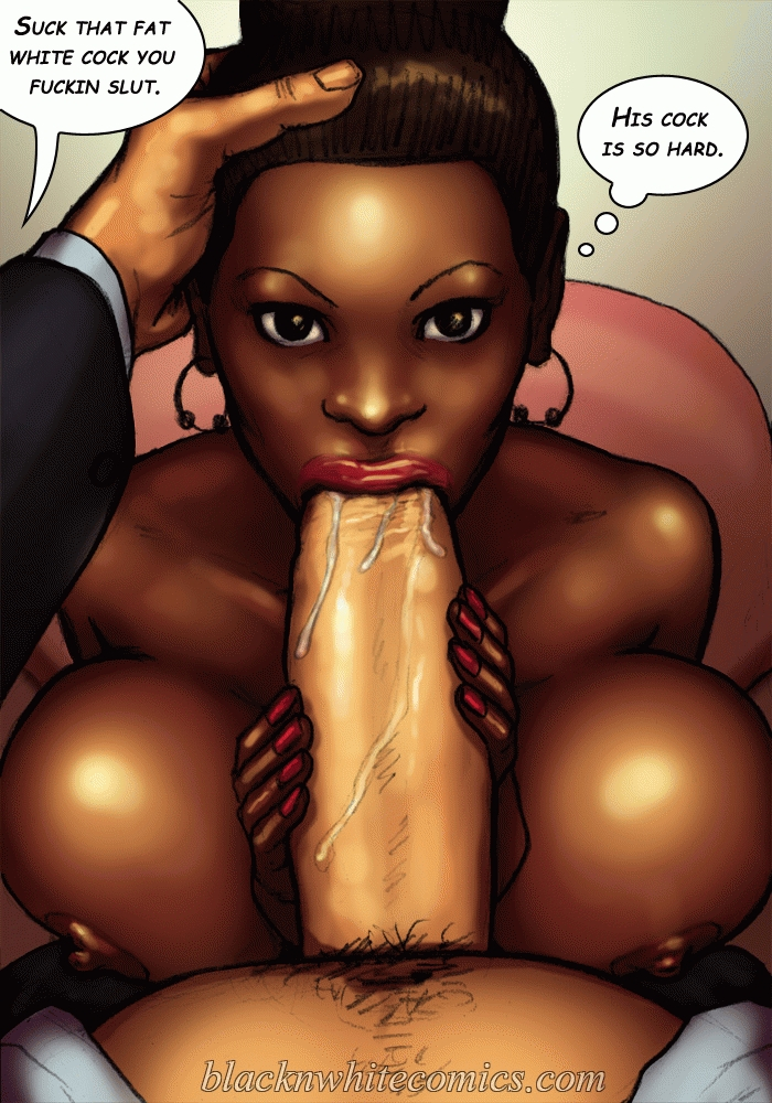 black cartoon comic porn